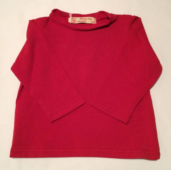 T-shirt-roed-oekotex-bomuld-elastan-14915