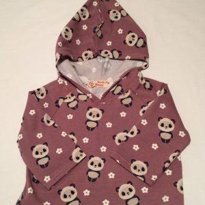 Haettebluse-med-pandabjoerne-blommefarvet-bomuld-elastan-14920