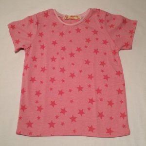 Stjerne-t-shirt-pink-oekotex-bomuld-elastan-14954