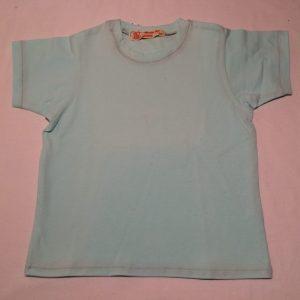 T-shirt-isblaa-korte-aermer-oekotex-bomuld-elastan-14942
