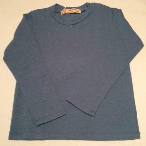T-shirt-mellemblaa-meleret-oekologisk-bomuld-elastan-14913