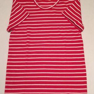 T-shirt-roedstribet-oekologisk-bomuld-elastan-14852