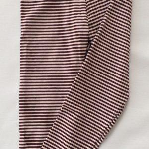 Leggins-aubershine-rosa-stribet-oekotex-bomuld-elastan