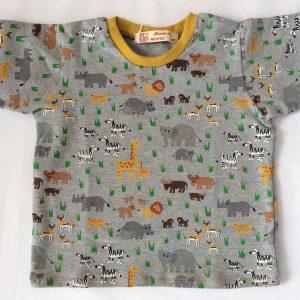 Safari-t-shirt-graa-melange-oeko-tex-bomuld-elastan