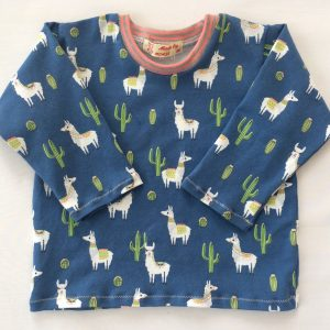 T-shirt-med-lange-aermer-lamaer-mellemblaa-oeko-tex-bomuld-elastan