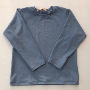 T-shirt-dueblaa-med-lange-aermer-oeko-tex-viscose-elastan