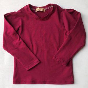 T-shirt-med-lange-aermer-blommefarvet-oeko-tex-95-5-proc.-bomuld-elastan