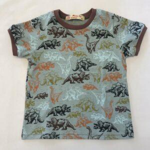 T-shirt-med-dinosaure-ghost-green-oeko-tex-95-proc.-bomuld-5-proc.-elastan