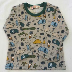 T-shirt-med-safaridyr-og-lange-aermer-beige-oekologisk-jersey-bomuld-elastan