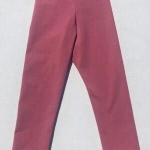 Leggins-stoevet-pink-oeko-tex-bomuld-elastan