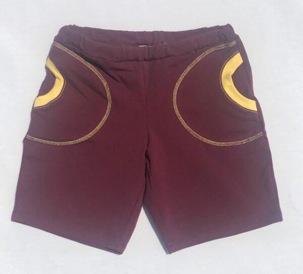 Shorts-bordeaux-med-lommer-oeko-tex-bomuld-elastan-92-8