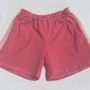 Shorts-pink-med-mellemvaerk-oeko-tex-bomuld-elastan